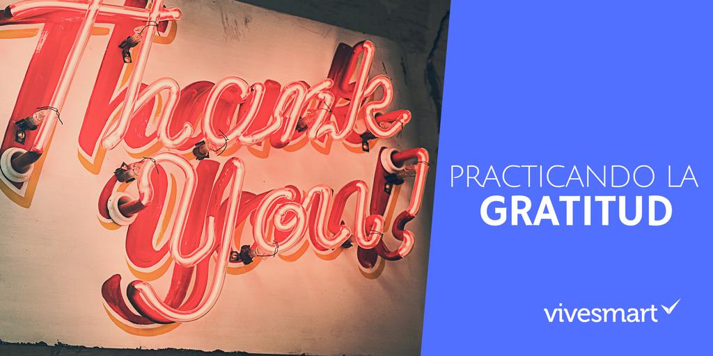 Practicando la gratitud