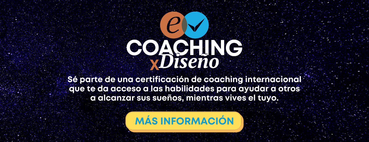Más información Coaching por Diseño
